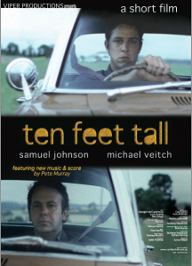 ten feet tall  poster design